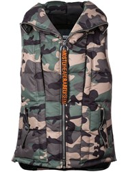 Mostly Heard Rarely Seen Snivel Puffer Vest Green