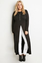 Forever 21 Plus Size High Slit Maxi Dress