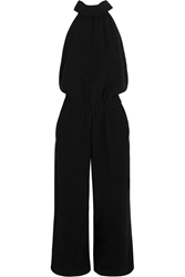 Mcq By Alexander Mcqueen Cropped Crepe Jumpsuit