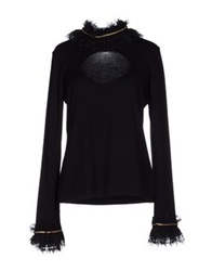 Angelo Marani Turtlenecks Black