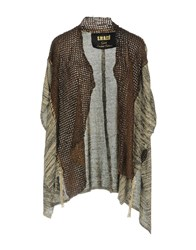 S.W.O.R.D. Cardigans Brown