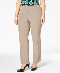 Kasper Plus Size Crepe Stretch Pants