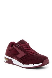 Brooks Fusion Sneaker Red