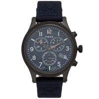 Timex Allied Lt Chronograph Watch Blue