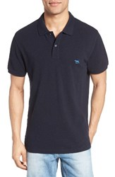 Rodd And Gunn Men's 'The Gunn' Pique Sports Fit Cotton Polo Navy