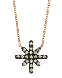 White Diamond Starburst Necklace Diane Kordas