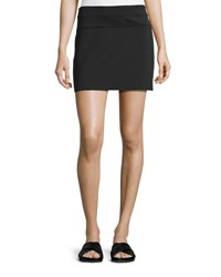 Helmut Lang Scuba Mini Skirt Black