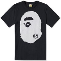 A Bathing Ape Glitter Big Head Tee Black