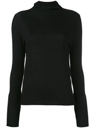 Le Kasha High Neck Jumper Women Cashmere M Black