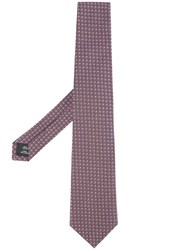Gieves And Hawkes Embroidered Tie Multicolour