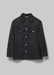 Our Legacy 'S New Work Jacket In Coal Cotton Size 46