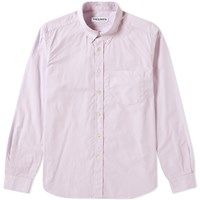 Tres Bien Button Down Shirt Purple
