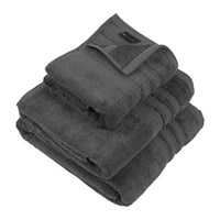 Amara Egyptian Cotton Towel Charcoal Grey
