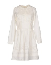 Deby Debo Short Dresses White