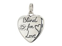 Gucci Blind For Love Bird And Flower Charm Silver