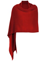 Cecilia Prado Soft Shawl Red