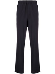 Oamc Drawcord Trousers Blue