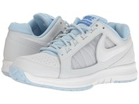 Nike Air Vapor Ace Pure Platinum White Ice Blue Comet Blue Women's Tennis Shoes