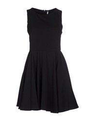 Fly Girl Short Dresses Black