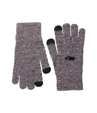 Outdoor Research Biosensor Liners Mulberry Extreme Cold Weather Gloves Purple