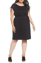 Dorothy Perkins Plus Size Women's Stretch Jersey Midi Dress Black