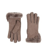 Ugg Side Vent Bailey Glove Stormy Grey Extreme Cold Weather Gloves Gray