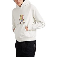 Remi Relief Hiker Cotton Terry Hoodie Cream