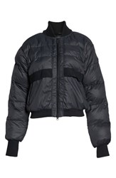 Adidas By Stella Mccartney Crop Puffer Jacket Black