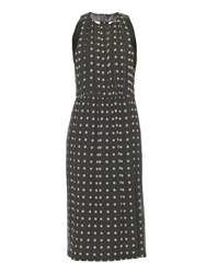 Burberry Sybella Polka Dot Print Silk Dress