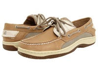 Sperry Billfish 3 Eye Boat Shoe Tan Beige Men's Lace Up Casual Shoes