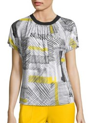 Piazza Sempione Printed Jersey Tee