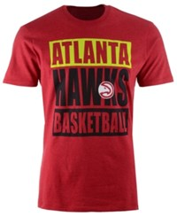47 Brand '47 Men's Atlanta Hawks Compton Club T Shirt Red