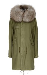 Mr And Mrs Italy Army Fur Lined Parka Multi