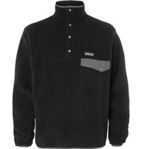 Patagonia Synchilla Fleece Sweatshirt Black