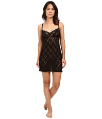 Hanky Panky Fitted Chemise Black Women's Lingerie