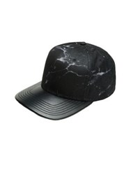 Gents Tim Flat Brim Baseball Cap Black