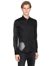 Versus Greek Lion Cotton Poplin Shirt