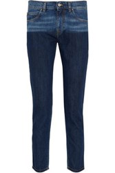 Vivienne Westwood Billy Two Toned Low Rise Skinny Jeans Mid Denim