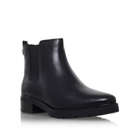 Michael Kors Whitaker Bootie Low Heel Ankle Boots Black