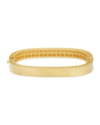 Roberto Coin Princess 18K Gold Medium Bangle
