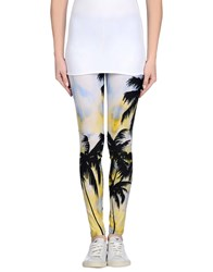 Fausto Puglisi Trousers Leggings Women Sky Blue