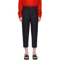 Marni Blue Cropped Trousers