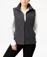 Columbia Plus Size Benton Springs Fleece Vest Medium Gray