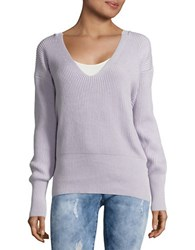 Free People Allure V Neck Sweater Ivory
