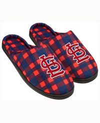 Forever Collectibles St. Louis Cardinals Flannel Slide Slippers Red