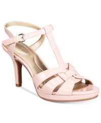 Bandolino Sarahi Platform Dress Sandals Pink