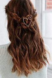 Urban Outfitters Love Hair Pin Gold