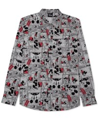 Jem Men's Micky Mouse Shirt White