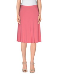 Vdp Collection Skirts Knee Length Skirts Women Pink