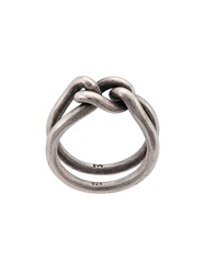 M Cohen M. Curb Band Ring Silver